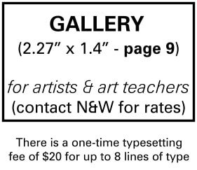 Needs and Wants newspaper Gallery Ad