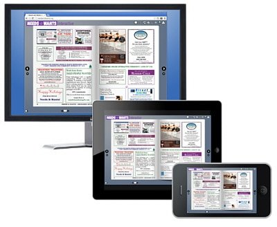 View Needs and Wants newspaper on Desktop, Pad or Phone
